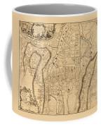 Map Of Cork 1771 Coffee Mug