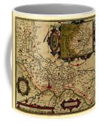 Map Of Cremona 1579 Coffee Mug