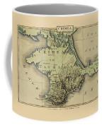 Map Of Crimea 1815 Coffee Mug