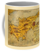 Map Of Cyprus 1562 Coffee Mug