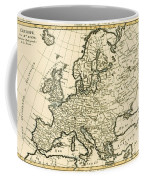 Map Of Europe Coffee Mug by Guillaume Raynal