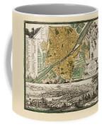 Map Of Florence 1731 Coffee Mug