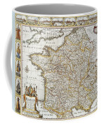 Map Of France, 1627 Coffee Mug