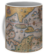 Map Of Gulf Of Mexico And C Coffee Mug