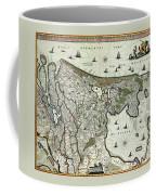 Map Of Holland 1682 Coffee Mug