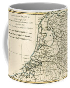 Map Of Holland Including The Seven United Provinces Of The Low Countries Coffee Mug