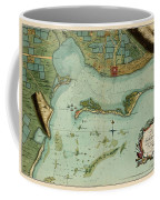 Map Of Jamaica 1756 Coffee Mug