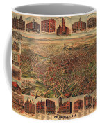 Map Of Los Angeles 1891 Coffee Mug