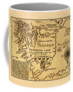 Map Of Newfoundland 1625 Coffee Mug