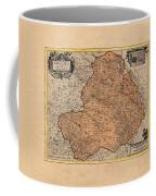 Map Of Rheims 1636 Coffee Mug