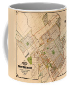 Map Of San Jose 1886 Coffee Mug