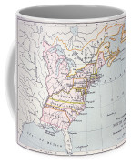 Map Of The Colonies Of North America At The Time Of The Declaration Of Independence Coffee Mug by American School