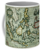 Map Of The East Indies Coffee Mug