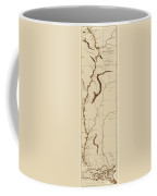 Map Of The Mississippi Riverr 1775 Coffee Mug