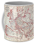 Map: Thirty Years War Coffee Mug