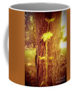 Maple Branch Growing From Trunk Coffee Mug