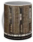 Maple Leaf Gardens Coffee Mug by Brian Carson