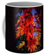 Maple Leaves Coffee Mug