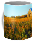 Maple Ridge Fall Barn Coffee Mug