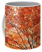 Maple Tree Foliage Coffee Mug