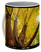 Maple Tree Poster Coffee Mug