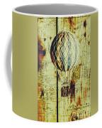 Mapping A Hot Air Balloon Coffee Mug