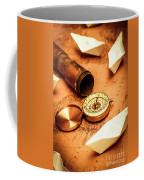 Maps And Bearings Coffee Mug