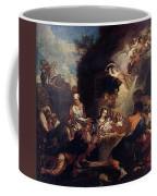 Maratti Carlo Adoration Of The Shepherds Coffee Mug