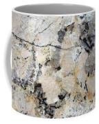 Marble Tan Black Coffee Mug