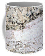 Marble Black Tan Pink Coffee Mug