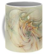 Marble Spiral Colors Coffee Mug