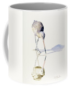 Marbled Godwit Times Three Coffee Mug