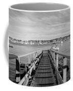 Marblehead Massachusetts Dock Coffee Mug