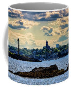 Marblehead Points To The Ocean Coffee Mug