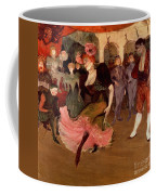 Marcelle Lender Dancing The Bolero In Chilperic Coffee Mug by Henri de Toulouse Lautrec