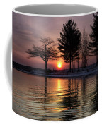 March Sunrise At Detroit Point Coffee Mug