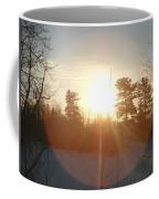 March Sunrise Circle Coffee Mug