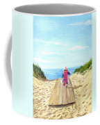 March To The Beach Coffee Mug by Jack Skinner