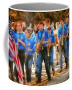 Marching Band - Junior Marching Band  Coffee Mug by Mike Savad