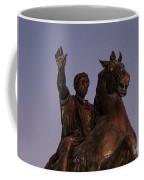 Marcus Aurelius Statue Rome Coffee Mug