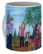 Mardi Gras Beggar And The Children Coffee Mug