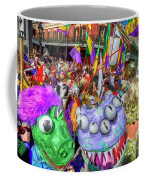 Mardi Gras Mob Coffee Mug