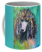 Mardi Gras Poodle Coffee Mug