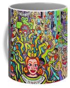 Mardi Gras - Throw Me Something Mister Coffee Mug