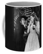 Margaret Hamilton And Judy Garland In The Wizard Of Oz 1939 Coffee Mug