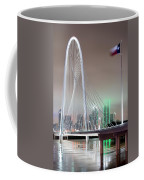 Margaret Hunt Hill Bridge Flag Coffee Mug