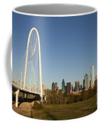 Margaret Hunt Hill Bridge In Dallas - Texas Coffee Mug