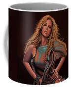 Mariah Carey Painting Coffee Mug