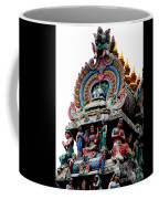 Mariamman Temple Detail 3 Coffee Mug