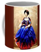 Marie Antoinette Figurine In New Orleans Coffee Mug